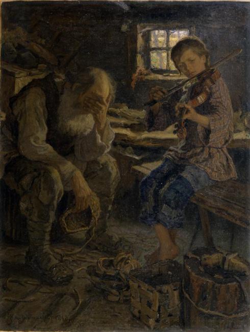 Богданов-Бельский Н.П. (1868—1945). Талант. 1906