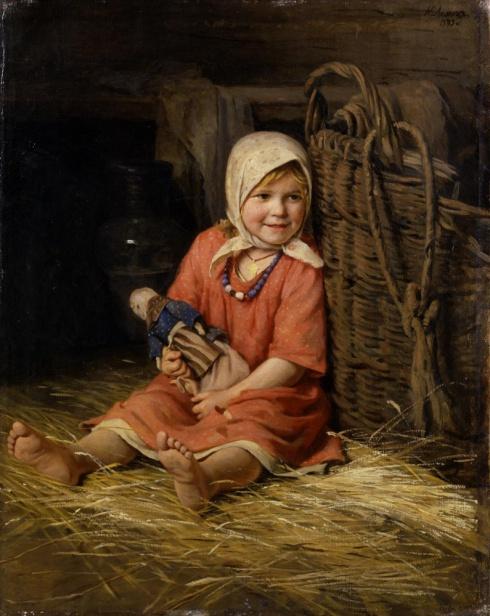 Лемох К.В. (1841—1910). Варька. 1893