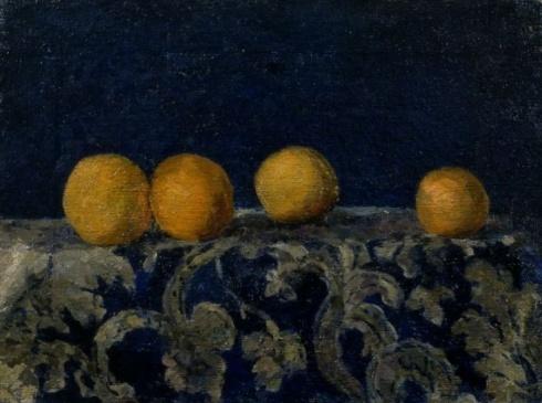 Ларионов М. Ф. (1881-1954). Натюрморт с апельсинами. 1907