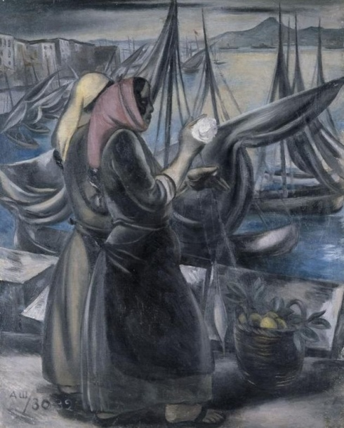 Шевченко А. В. (1883-1948). Рыбачки. 1930-1932
