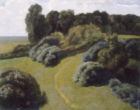 Крымов Н. П. (1884-1958). Пейзаж. Летний день. 1926