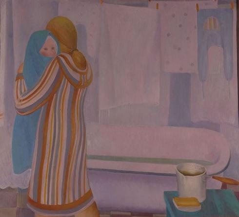 Шадрунова З.Г. Род. 1950. Купание. 1978