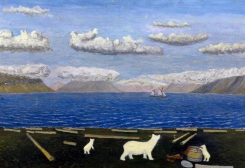 Вылка И.К. (1886–1960). Мыс Дровяной. 1950-е