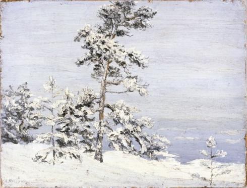 Писахов С.Г. (1879–1960). Туман надвигается. 1910-е