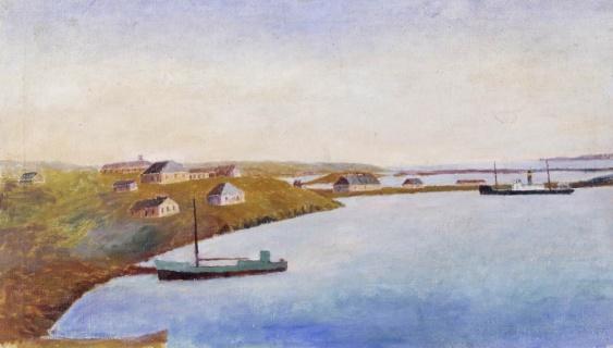 Вылка И.К. (1886–1960). Становище Белушья Губа. 1950-е