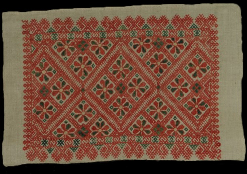 Оплечье (деталь рукава женской рубахи)
