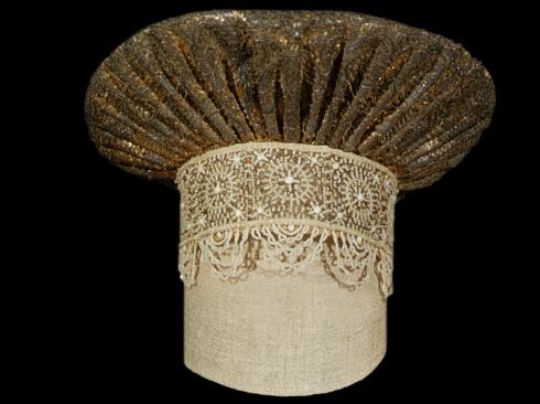 Праздничный головной убор молодой женщины «кокошник-сборник»