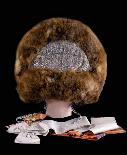 Праздничный девичий головной убор «шапочка»
