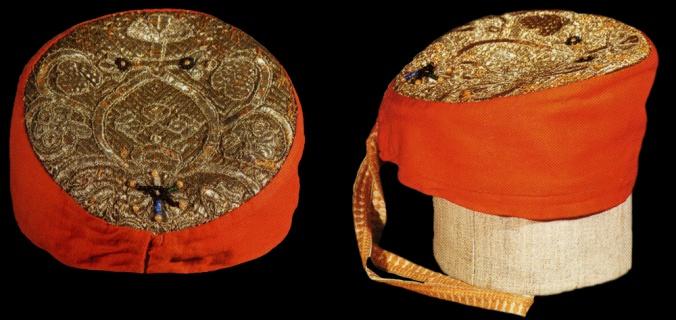 Праздничный женский головной убор «повойник»