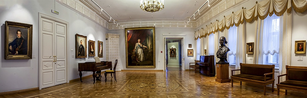 Усадебный дом Е.К. Плотниковой. Фото музея