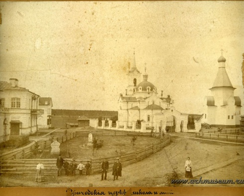 Приходские церкви и школа в Суре