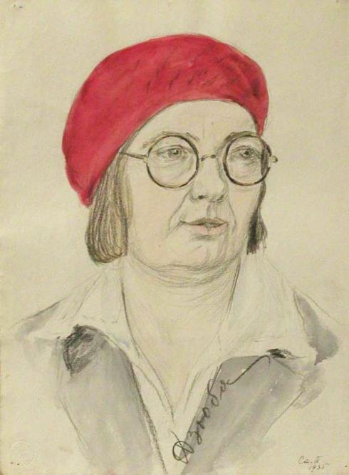 Портрет Дзюба. Из серии «Портреты». 1935