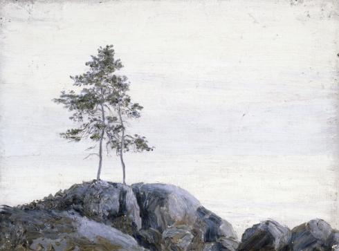 Этюд. Одинокие. 1910-е