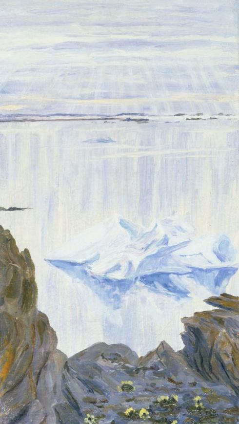 Этюд. Скалы. 1936