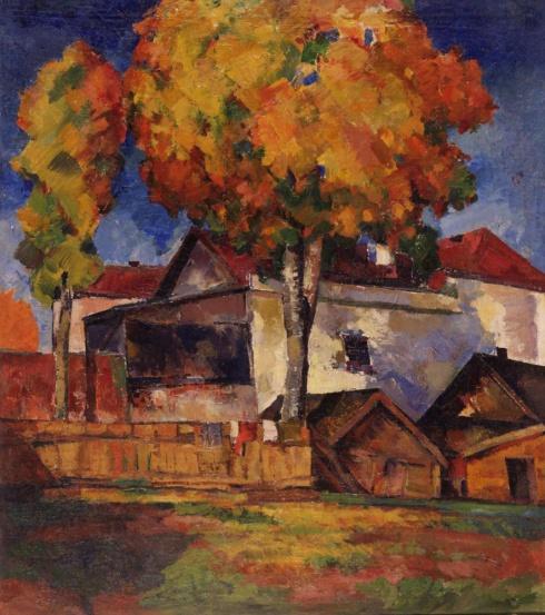 Осенний пейзаж. Конец 1920-х