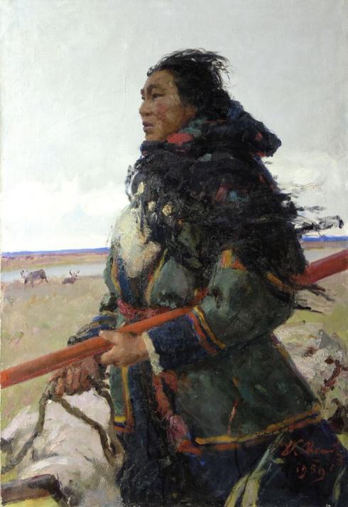 Таисия Тайбарей. 1959