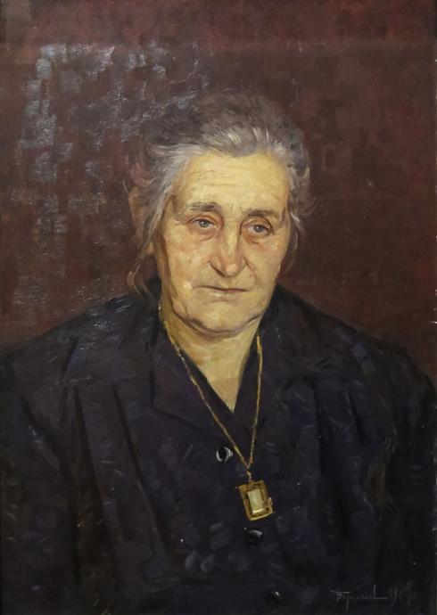 Портрет матери. 1964