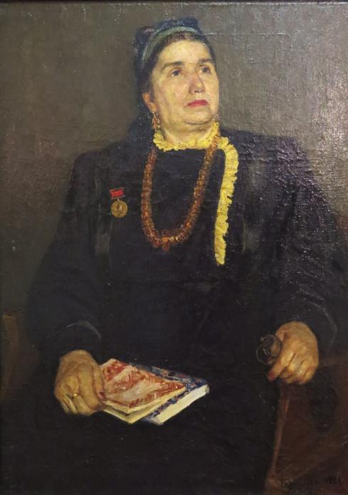 Портрет А.Я. Колотиловой. 1951
