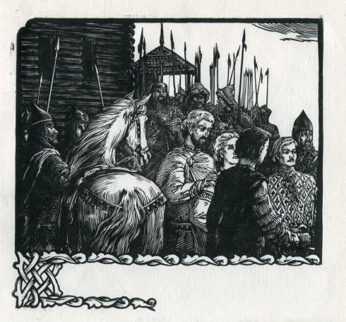 «Беседа с молодыми князьями». 1956