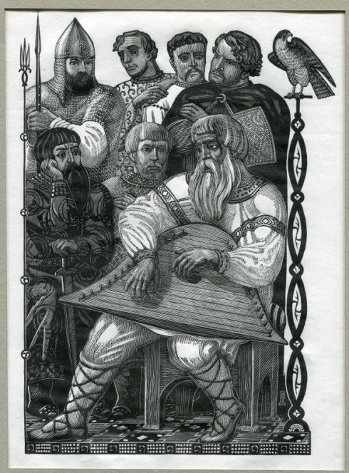 «Боян». Илл. к «Слову о полку Игореве». 1948