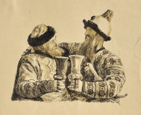 «Илья Муромец и Калин-царь». 1950