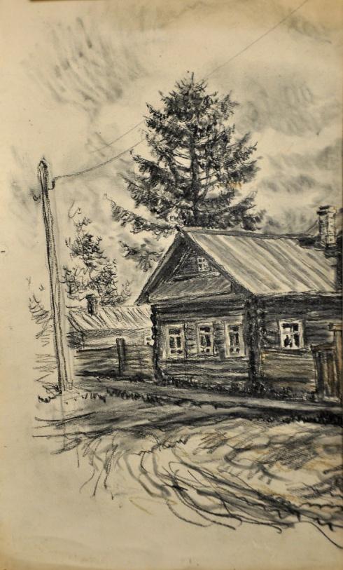 Домик в Сольвычегодске. 1930-е