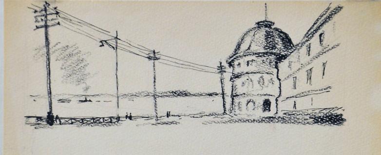 Набережная Северной Двины. 1930-е