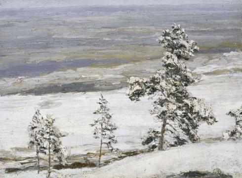 Море заносится мокрым снегом. 1910 - е