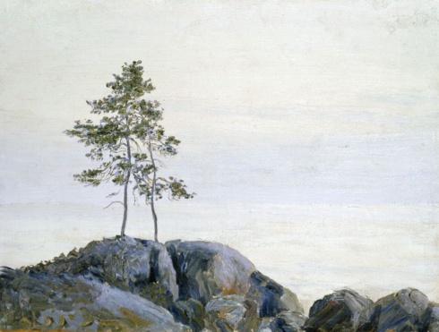 Одинокие. Этюд. 1910-е