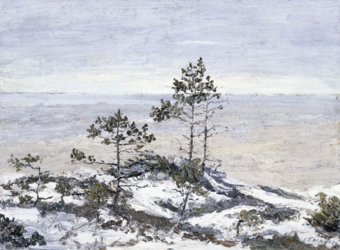Осень на Белом море. 1911