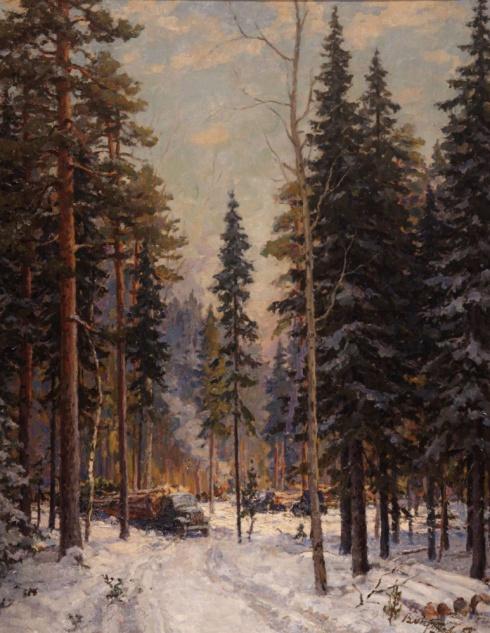 В лесах Севера. 1957