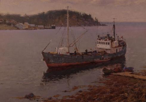 У Белого моря. 1961