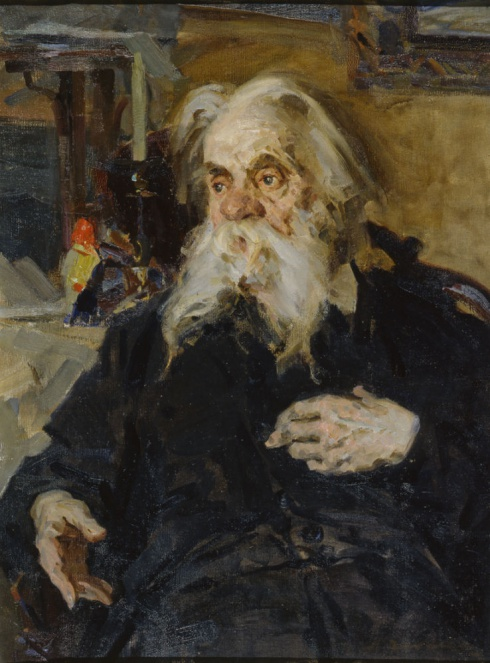Портрет С.Г. Писахова. 1958