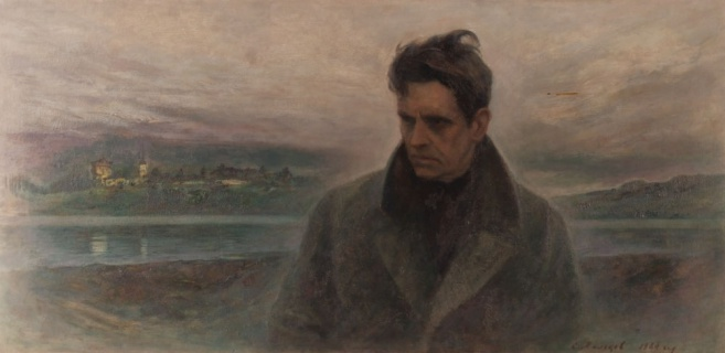 Портрет Федора Абрамова. 1984