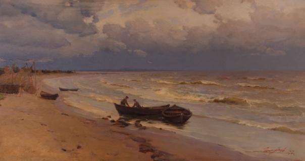 Белое море. Ягры. 1957