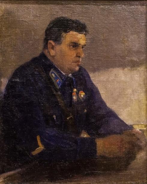 Портрет Героя Советского Союза М.В. Водопьянова.
