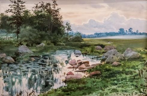 Около Выборга. 1895