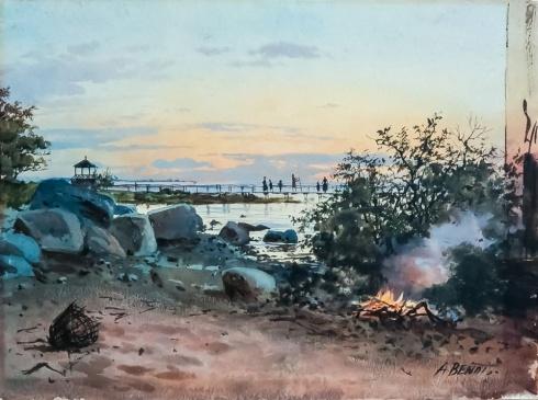 Пейзаж Мартышкино. XIX в