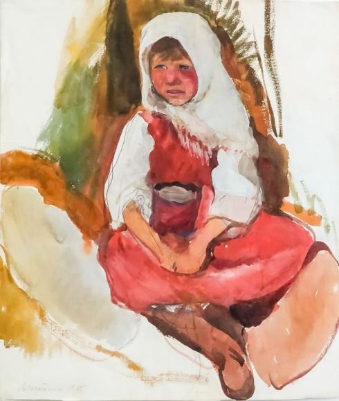 Анютка. 1915