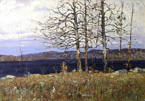 Озеро Щучье. 1980