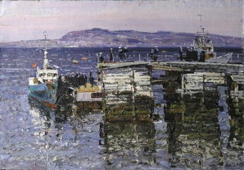 Морской пирс. 1978