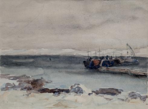 Ваеньга. Кольский залив. 1943