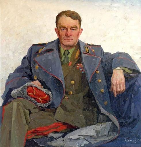 Портрет генерала Л.А.Громова. 1975