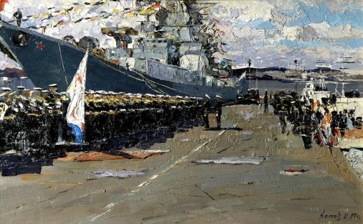 Перед Парадом. 1980