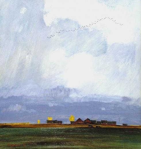 Журавли. 1985