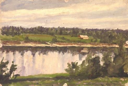 На Сухоне. 1938